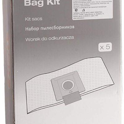 Kit 5 sacs pour  Aspirateur/Nettoyeur vapeur VAX-BAG BAGKIT