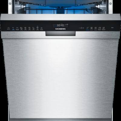 iQ500, Lave-vaisselle sous plan, 60 cm, Metallic SN45ES57CE