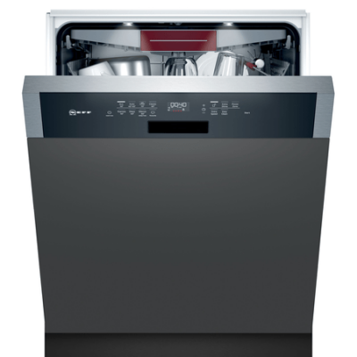 N 70, Lave-vaisselle intégrable avec bandeau, 60 cm, Metallic S147ZCS35E