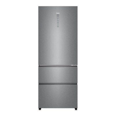 Refrigerateur combine largeur 70cm avec tiroir de congelation a acces direct HAIER A4FE742CPJ