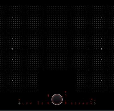 Table de cuisson FlexInduction avec commande TwistPad.